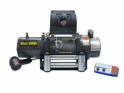 Лебедка Electric Winch 6000LBS 2722кг 12V стальной трос